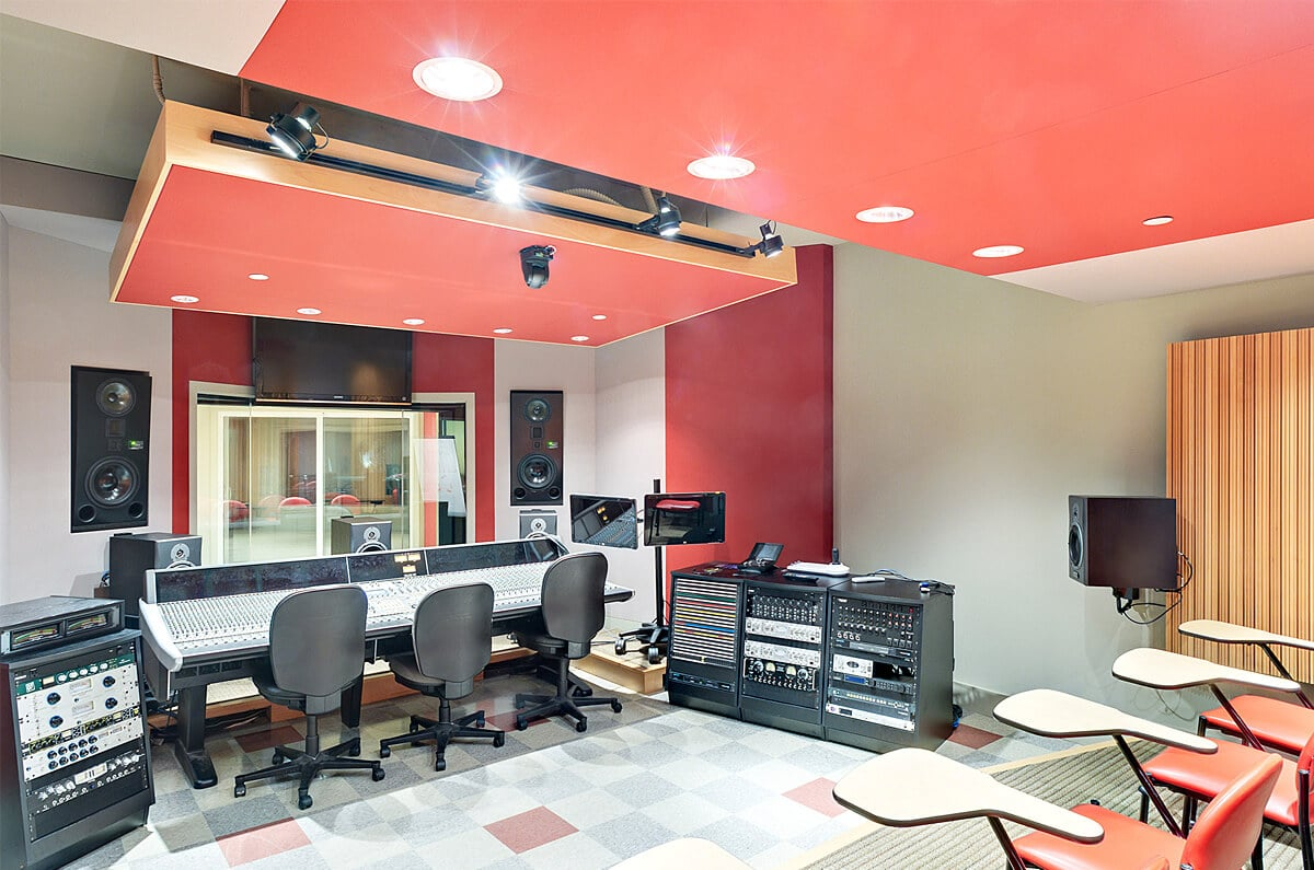 Art Institute of Miami Sound Studio 2