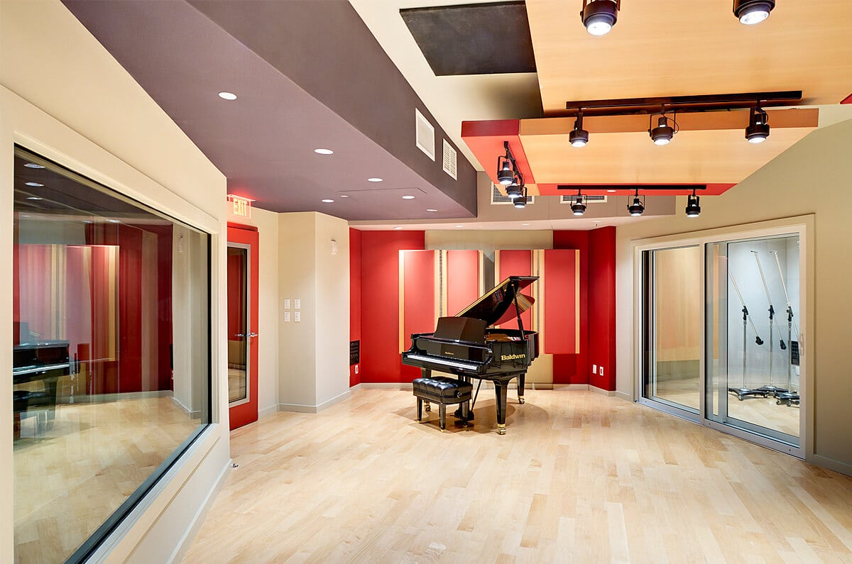 Art Institute of Miami Sound Studio 1